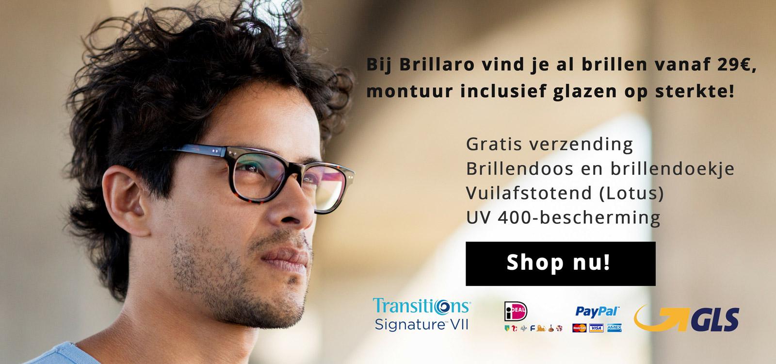 De beste online brillen koop je bij Brillaro.
