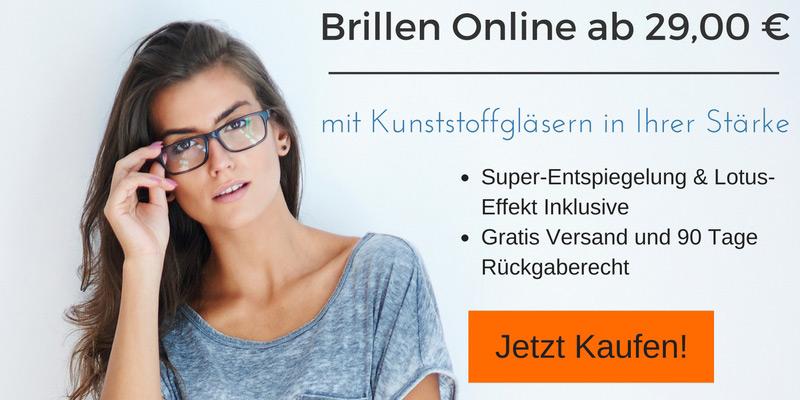Günstige Brillen Online ab 29,00 €