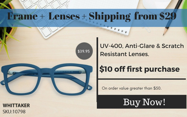 Quality Prescription Glasses from $29.00