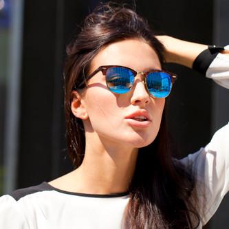 spiegelende zonnebrillen